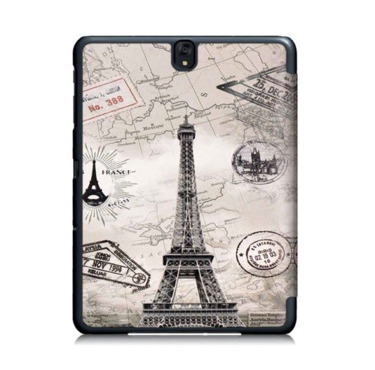 T-Trees Folding Stand Case for Samsung Galaxy Tab S3 9.7