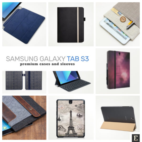 new product 516f5 a3140 12 premium-looking Samsung Galaxy Tab S3 9.7 cases and sleeves