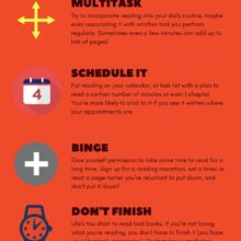 Tried-and-true ways to get more reading in your life #infographic