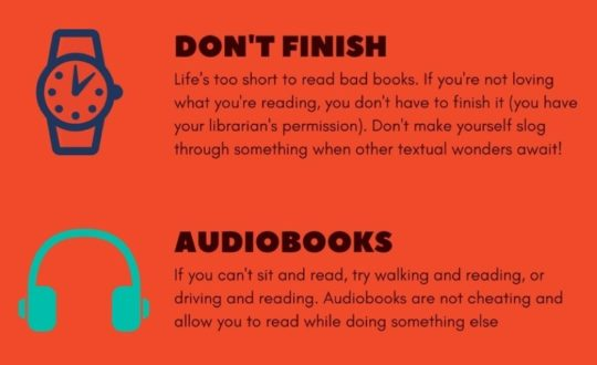 Ways to get more reading in your life audiobooks