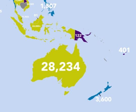 Which countries publish the most books - Australia