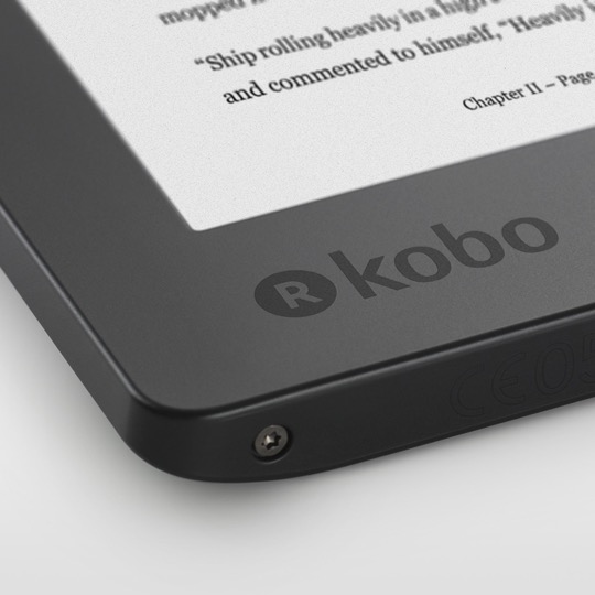 2017 Kobo Aura H2O - a close up