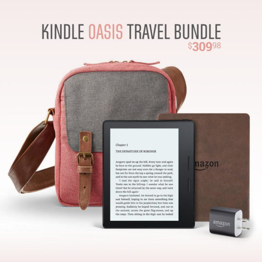 Amazon Kindle Oasis Travel Bundle