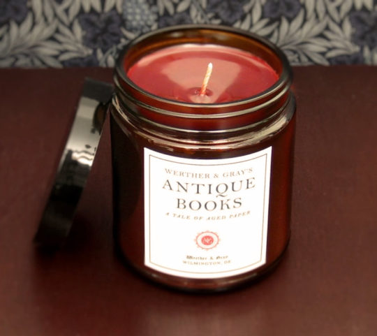 Antique Books scented candle