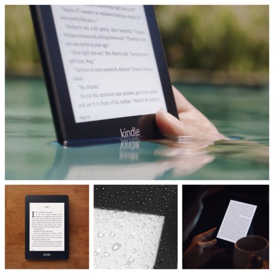 Best literary gifts for dad - Amazon Kindle Paperwhite 4