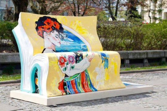 Book benches in Warsaw - picture 2