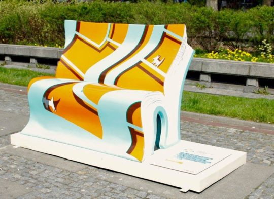 Book benches in Warsaw - picture 4