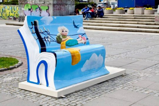 Book benches in Warsaw - picture 5