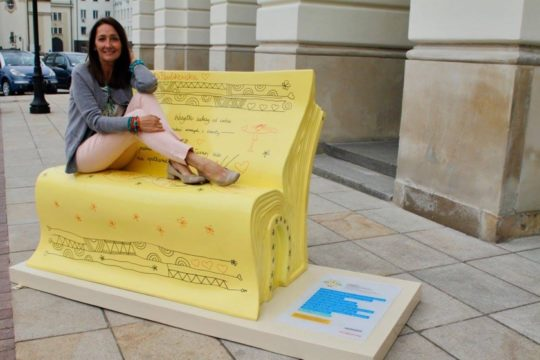 Book benches in Warsaw - picture 6