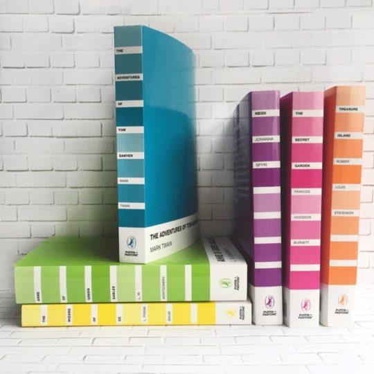 Classic novels - Puffin + Pantone edition