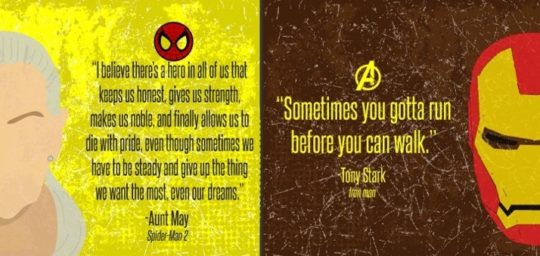Empowering quotes from comic books