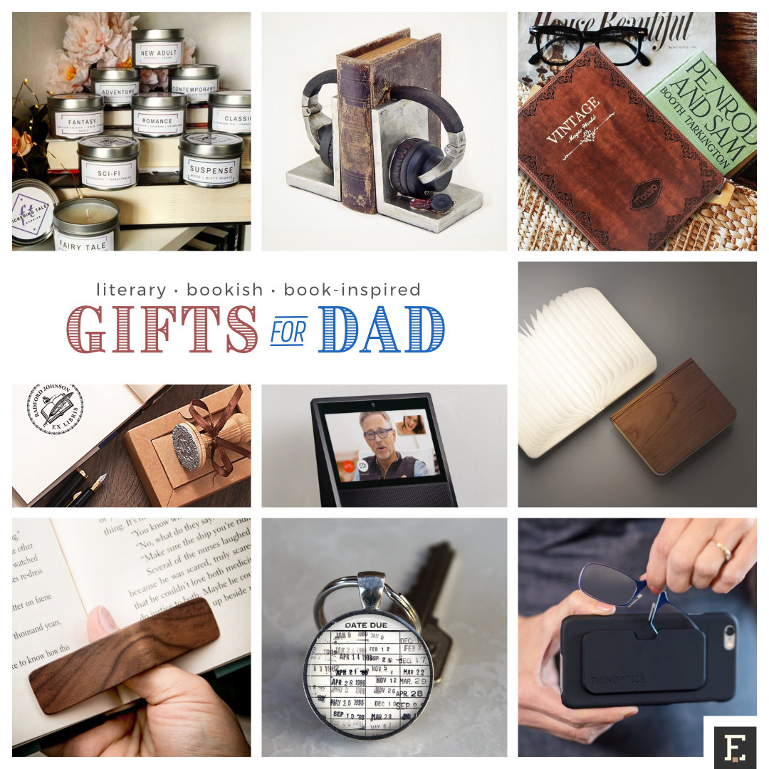 35 gifts your dad will love as much as he loves books