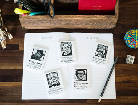Gifts for mom - a set of literary magnets