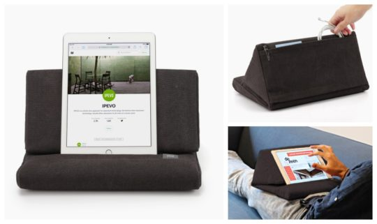 Gifts for the geek dad - Ipevo iPad pillow stand