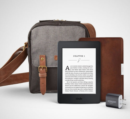 Great gifts for dad - Kindle Paperwhite Travel Bundle