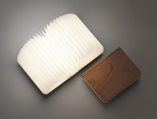 Leditop folding book lamp - gifts for dad who loves reading