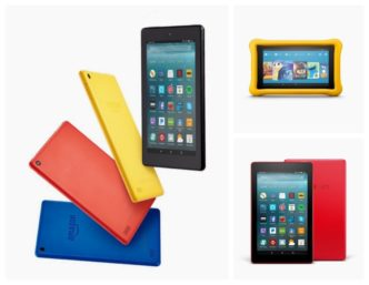 Save 20% when you buy any three new 2017 Amazon Fire tablets