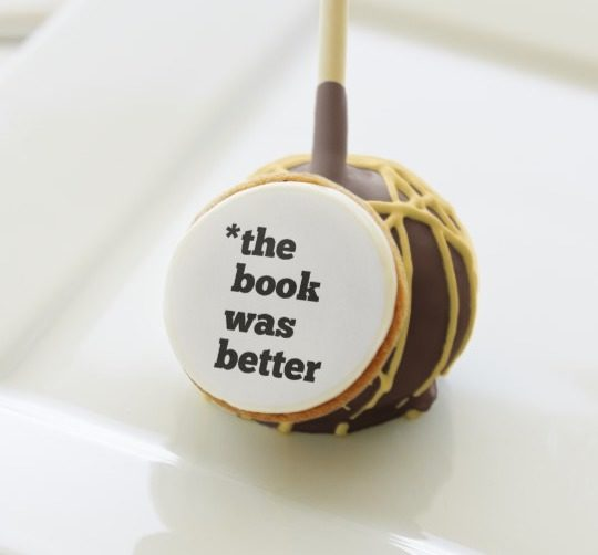 The Book Was Better cake pops