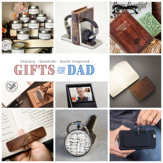 Unique gifts for dad who loves reading books