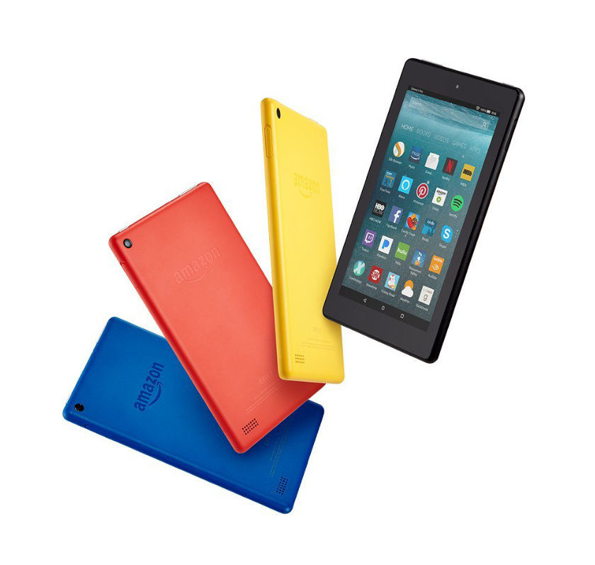 All new Amazon Fire 7-inch tablet released in June 2017