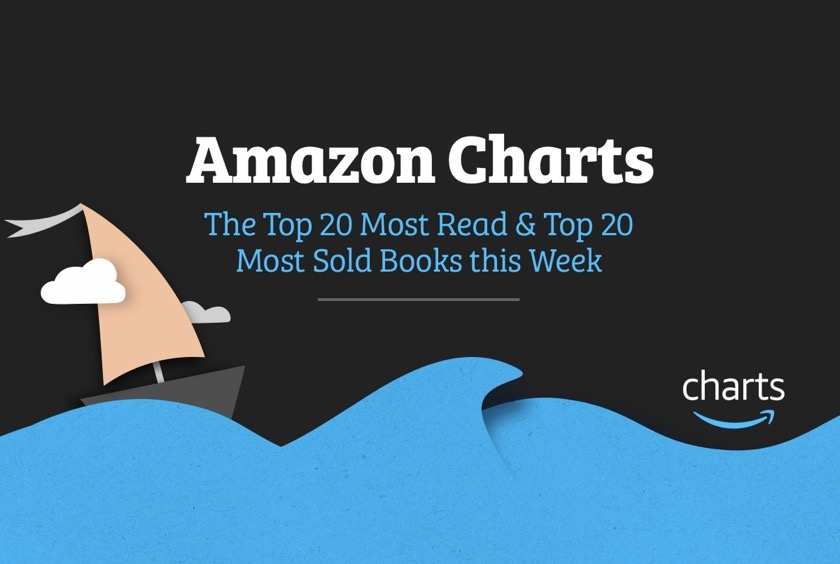 Amazon Charts - Top 20 Most Sold and Most Read books updated weekly