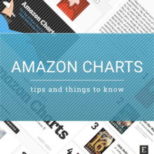 Amazon Charts - top tips and things to know