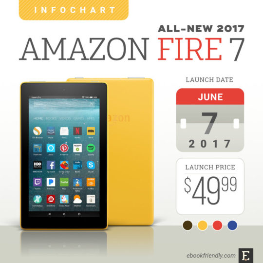 Amazon Fire 7 (2017) - tech specs, comparisons, launch details, pictures, and more