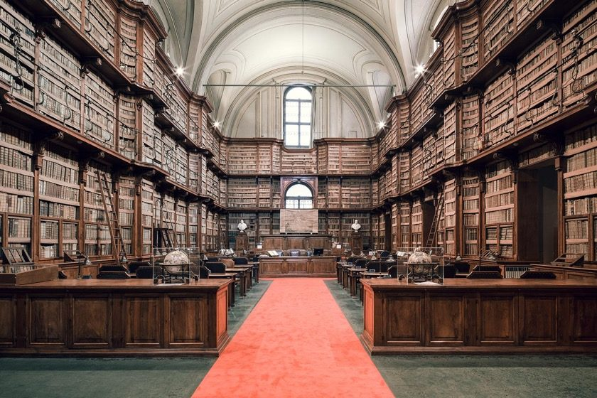Angelica Library in Rome