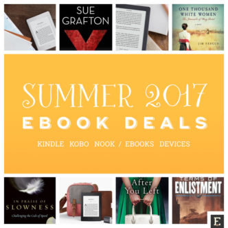 Best ebook deals for summer 2017 - Kindle, Kobo, Nook, and more