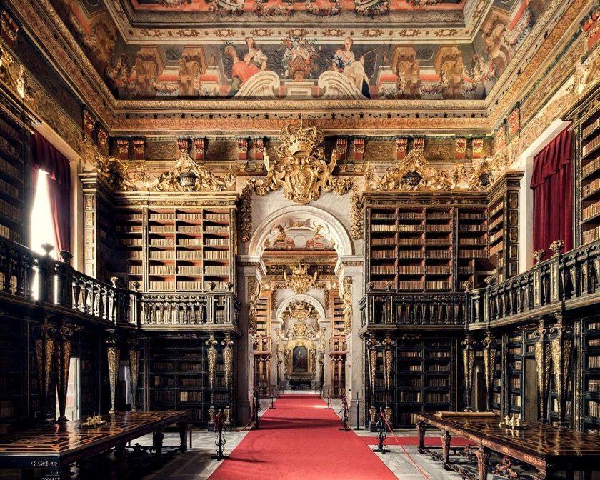 Biblioteca Joanina in Coimbra