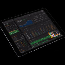 Bloomberg Professional on iPad Pro 10.5 (2017)