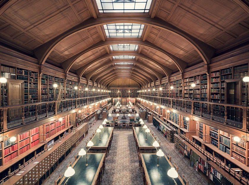 Hotel de Ville de Paris Library
