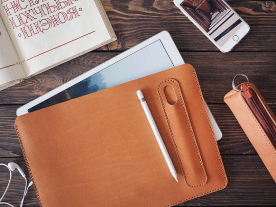 Inside Gift iPad Pro 12.9 2017 Leather Sleeve