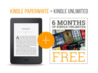 Kindle Paperwhite and Kindle Unlimited special bundle