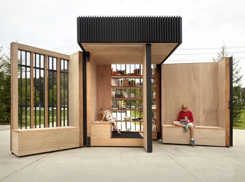 Story Pod - a community-driven library in Newmarket - picture 1