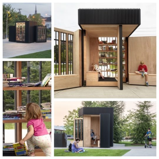 Story Pod is an exchange library designed by AKB studio