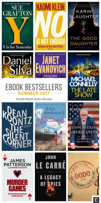 The 2017 must-read summertime bestsellers