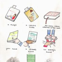 Things to use as a bookmark #cartoon