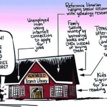 Why do we need libraries #cartoon