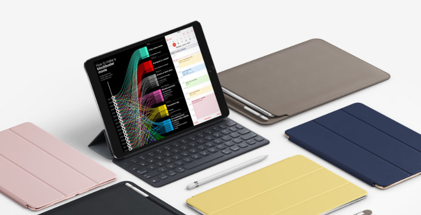 iPad Pro 10.5 2017 include the new Leather Sleeve