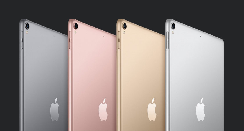 iPad Pro 10.5 comes in four colors: Silver, Space Gray, Gold and Rose Gold