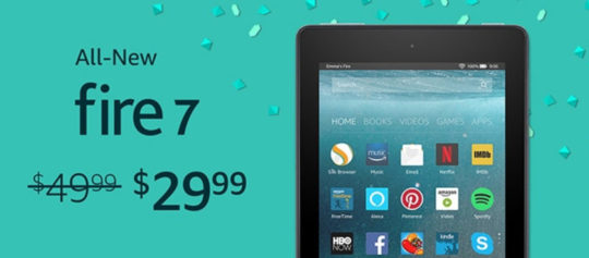 All-new Amazon Fire 7 (2017) for $29 during Prime Day 2017