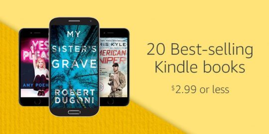 Amazon Prime Day 2017 - 20 Kindle bestsellers for $2.99 or less