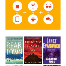 Beach reads for summer 2017 #infographic