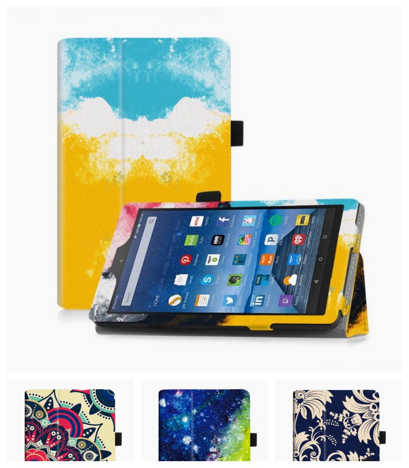 Famavala Amazon Fire 7 2017 Folio Case
