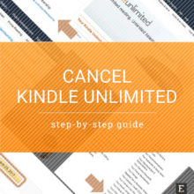 Cancel Kindle Unlimited – when and how to do it the right way