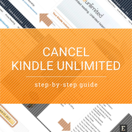 How to cancel Kindle Unlimited subscription