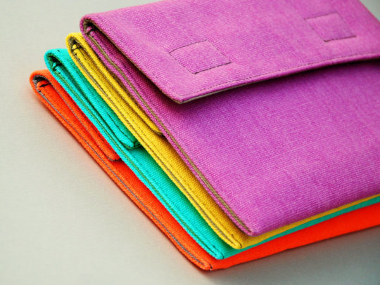 Jiu Jiu Colorful Cotton Sleeve for 7-inch Tablets