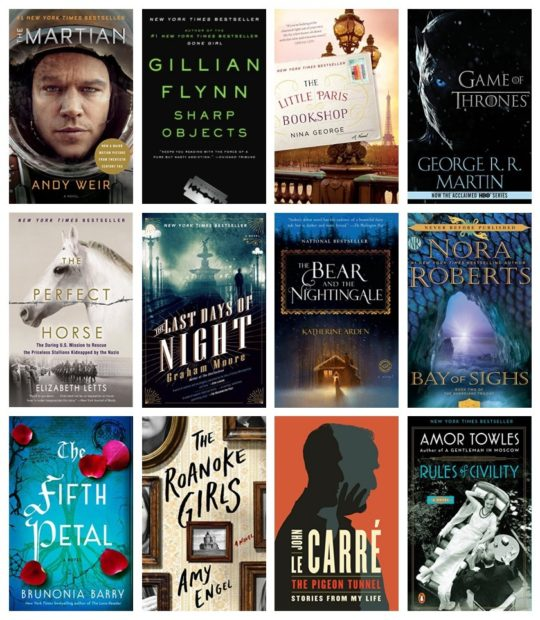 Kindle Daily Deal for July 16, 2017 - bestsellers for summer reading list