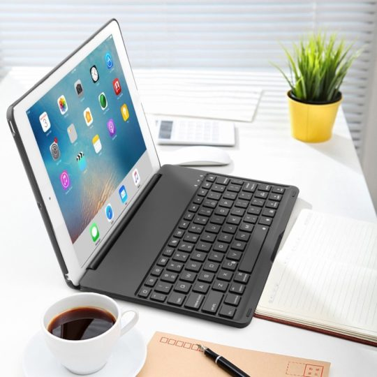 Kvago Slim-fit Protective Keyboard Case for iPad 9.7